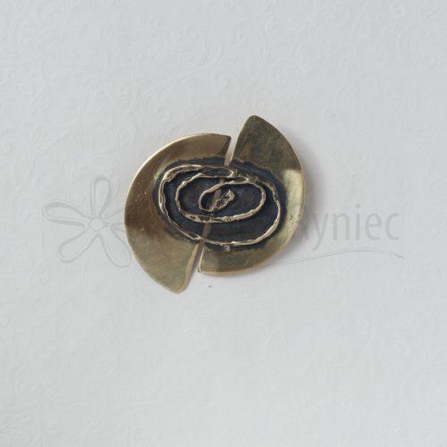 Koło z przesunięciem z owalną spiralą #1