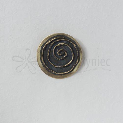 Spirala z błyszczącym marginesem