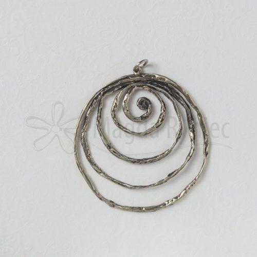 Duża ażurowa spirala